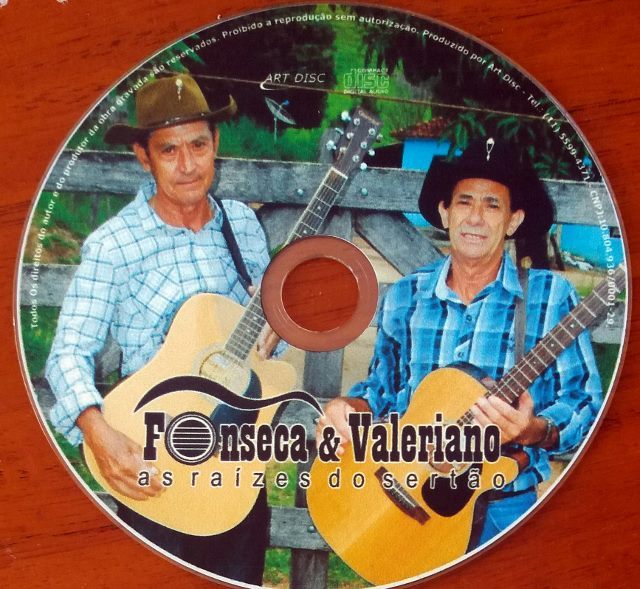 FONSECA E VALERIANO CD As Raízes do Sertão