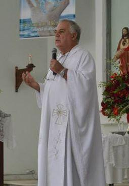 PADRE ANTÔNIO JOSÉ GABRIEL - FOTO enviada Diocese de Leopoldina- Imprensa